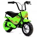 Elektrická motorka MiniRocket Monkey 250W, zelená