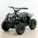 Dětská elektrická čtyřkolka Tiger 1000W Green Camo